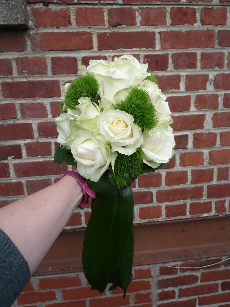 Bouquet de mariée Roses (1)