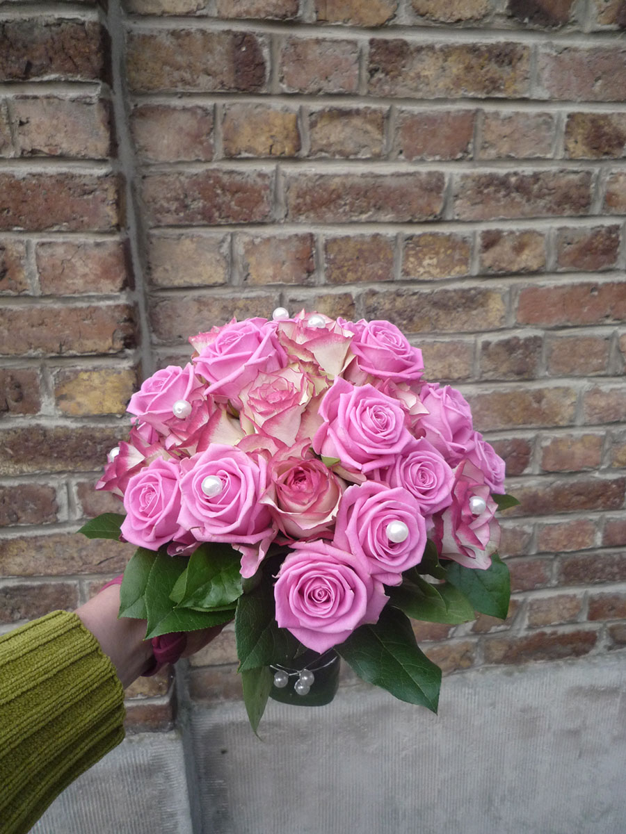 Bouquet de mariée Roses (4)