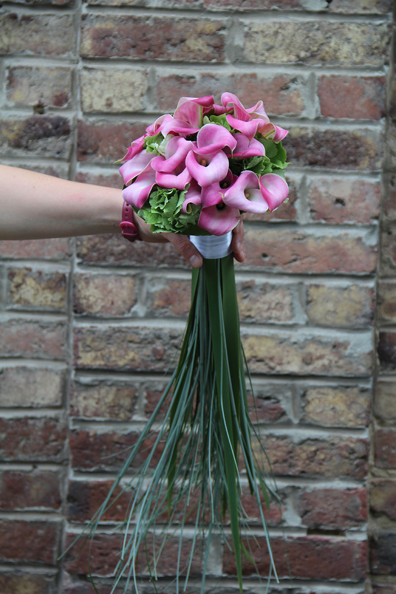 Bouquet de mariée callas