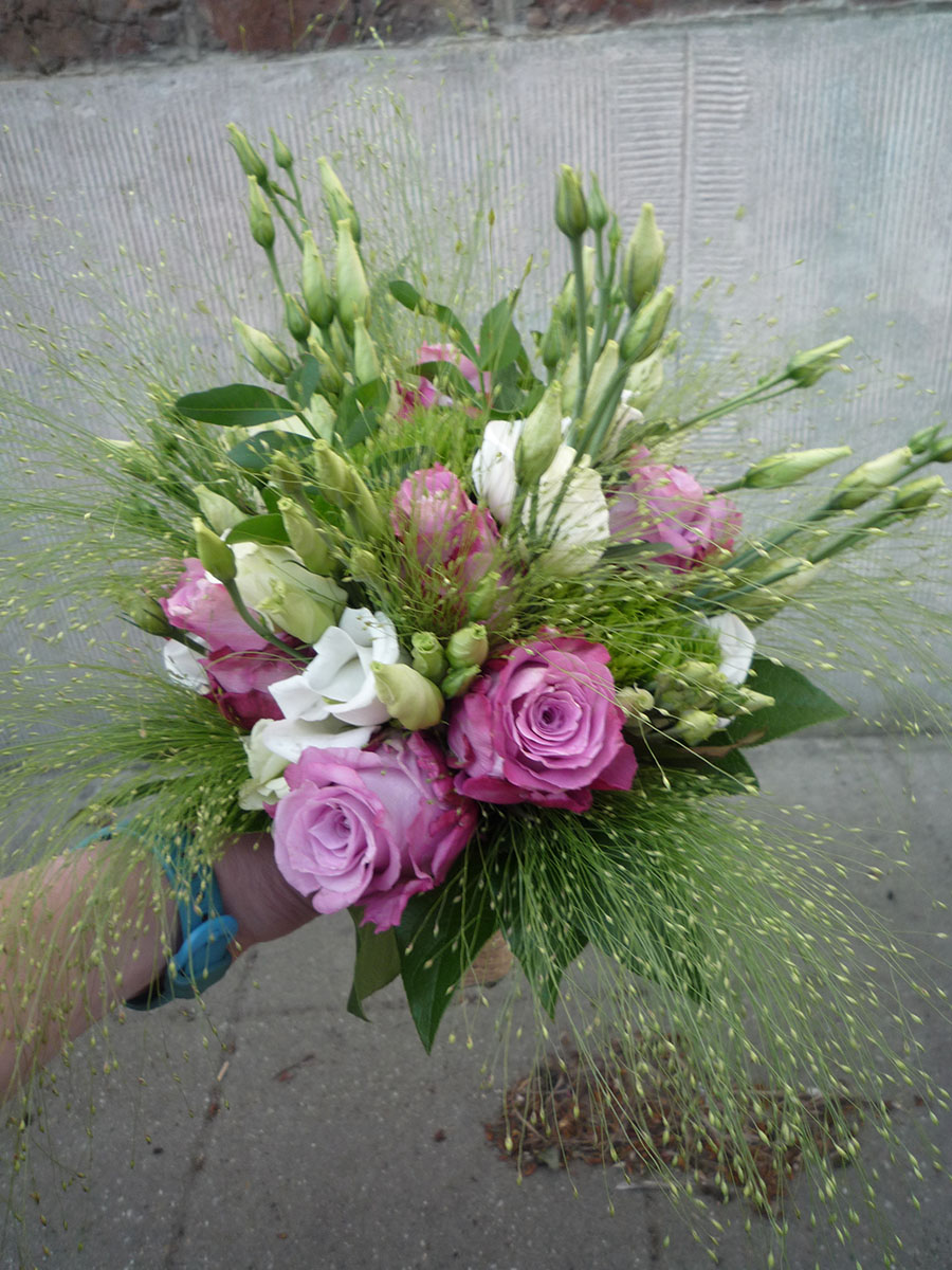 Bouquet de mariée champetre