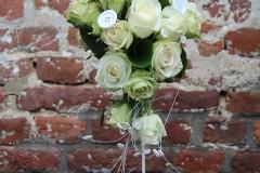 Bouquet de mariée boutons