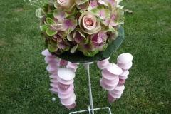 Bouquet de mariée chics