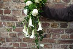 Bouquet de mariée chute de calla