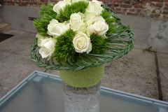 Montage composé bouquet  rond